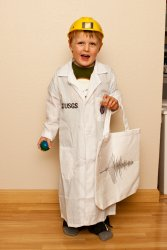 Will's Seismologist costume