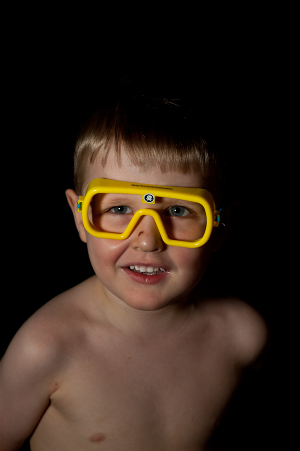 Will wearing Octonauts goggles
