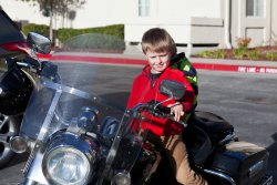 Will trying to pull the clutch on Grandpa Allen's motorcycle