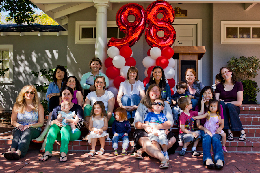 Castilleja 15 year reunion group photo