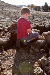Will plays in the mud
