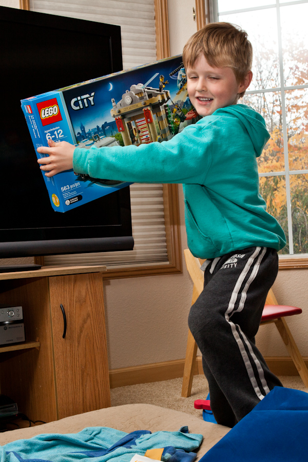 Will and the Lego City Museum Break In