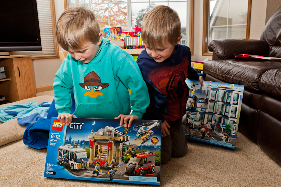 Will and Andrew's Lego City sets