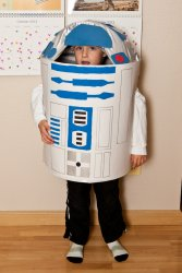 Andrew is R2-D2