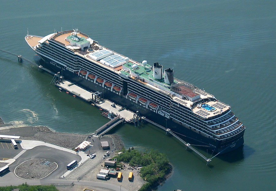 The Holland America Oosterdam