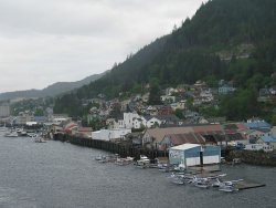 The city of Ketchekan
