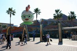 Giant Chicken Little at California Adventure