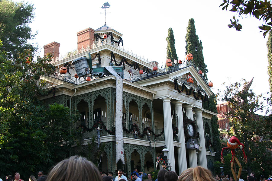 Nightmare Before Christmas-ized Haunted Mansion