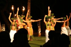 The Old Lahaina Luau on New Years Eve