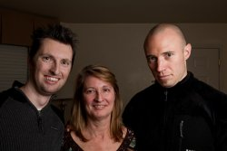 Adam, Debra and Kane