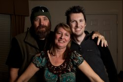 Steve, Debra and Adam