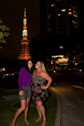 Tori and Jessi and the Tokyo Tower