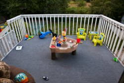 The improved deck and water table