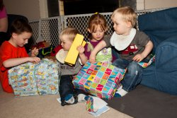 Present time with Mathieu and Madeleine 1