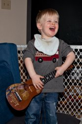 Andrew and his guitar 2