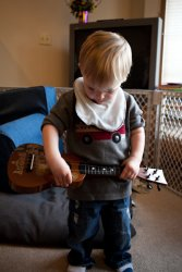 Andrew and his guitar 4