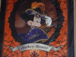 Mickey Mouse Halloween banner