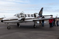 Boarding the plane to Deadhorse / Prudhoe Bay