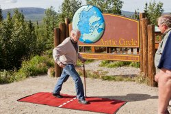 Norm crosses back into the Arctic Circle