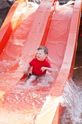 Will on the waterslide 1