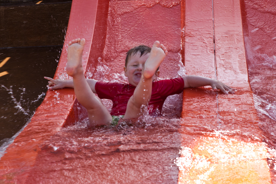 Will on the waterslide 3