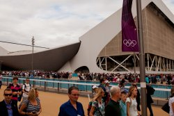 The Aquatics Centre at Olympic Park