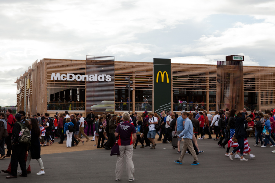 The world's largest McDonald's