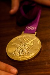 Melissa Seidemann's gold medal