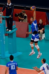Italy vs. Brazil in Men's Volleyball (1)