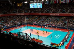 Olympic Volleyball at Earl's Court